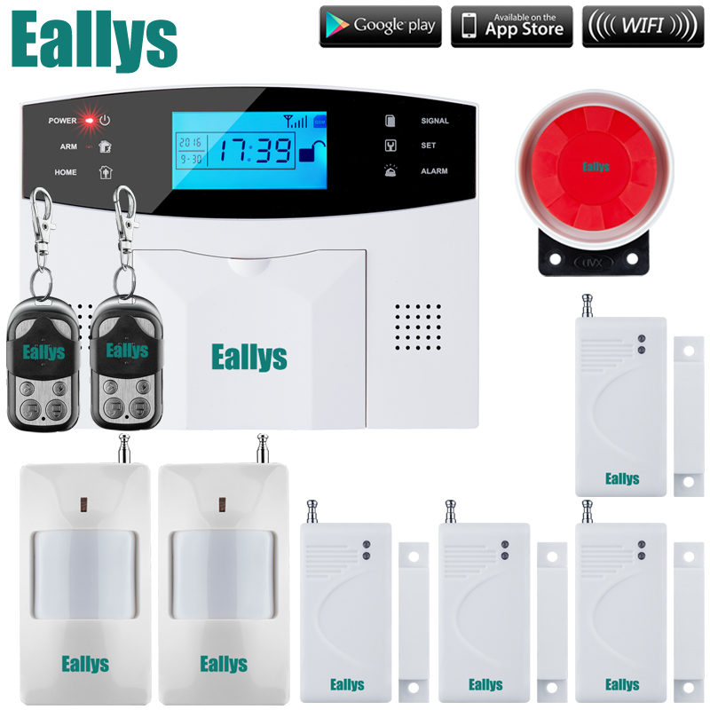 Promotion for French Spanish English Italian polish Czech Voice Wireless GSM Alarm Systems Security Home Alarm