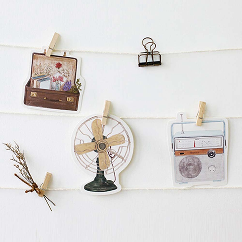 1 pack Retro Era Story Camera Greeting Card Postcard Birthday Letter Envelope Gift Card Set Message Card Stationery Set