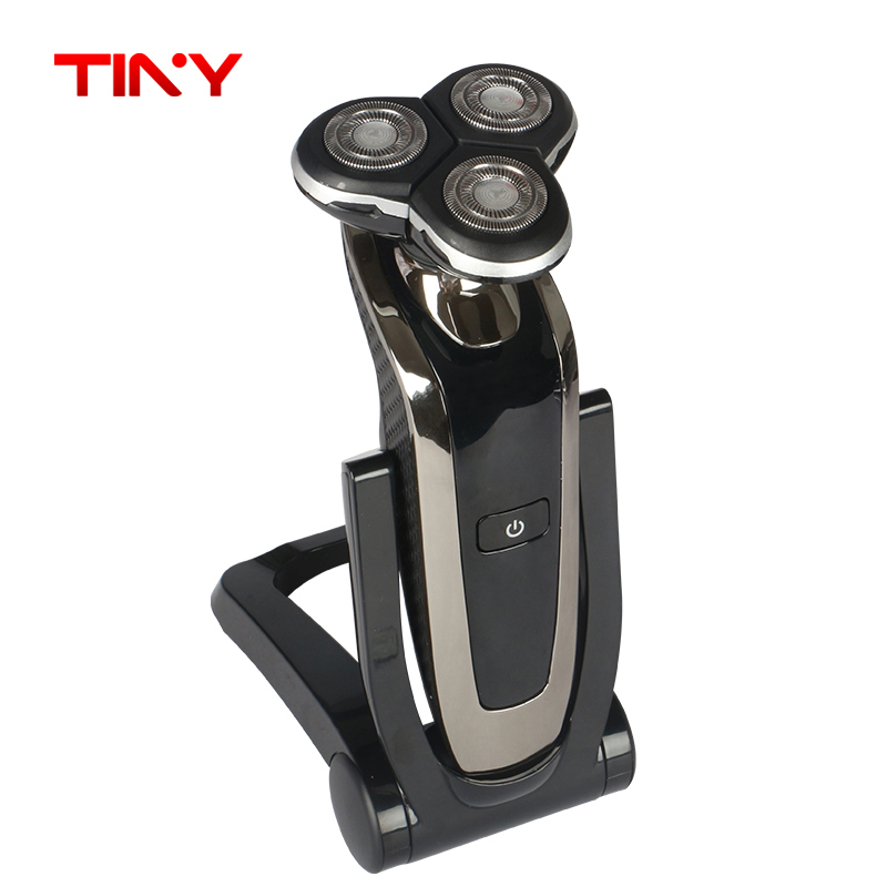 TINYProfessional Body Washable Electric Shaver for Men lasting 45 Minutes Rechargeable Electric razor 3D Floating Head