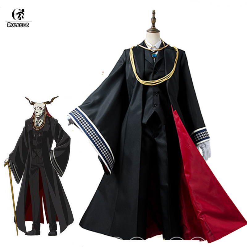 ROLECOS Anime Les Anciens Mage Mariée Cosplay Costumes Elias Cosplay Costumes Halloween Party Anime Mahoutsukai pas Yome