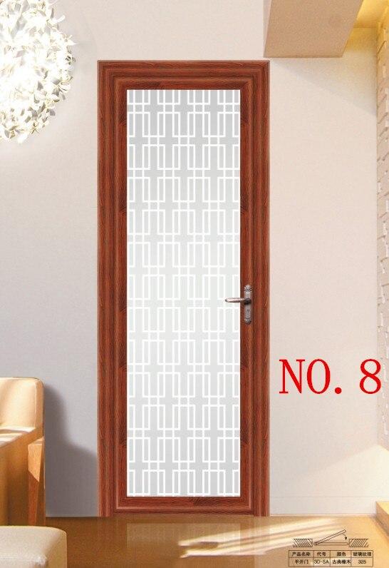 Aluminum Sliding door Luxury folding doors bathroom door ...