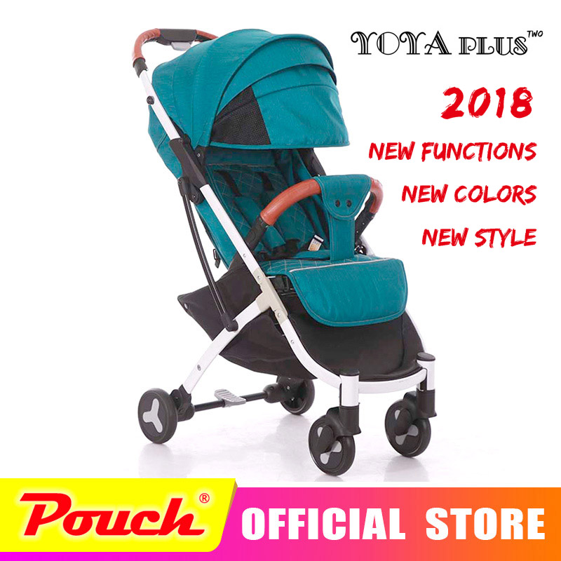 YOYAPLUS 2018 Neue Stil baby kinderwagen licht klapp dach auto kann sitzen können liegen ultra-licht tragbare auf die flugzeug