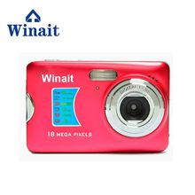 Winait 18mp Mini Digital Camera DC-500FE 2.7″ TFT LCD Display 8x Digitla Zoom Cheap Price Cam SD Card Max To 32GB