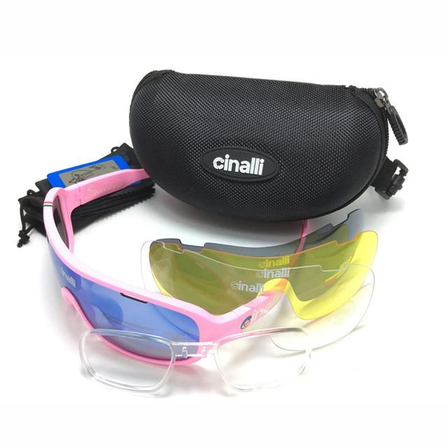 ac6c1e3af CINALLI POLARIZADOS Esportes Óculos de Sol Óculos de Proteção Óculos De  Ciclismo Com 3 UV400 Lentes