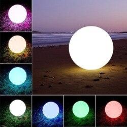 Wodoodporna fajne zabawa światła akumulator oświetlenie LED basen i dekoracji kula  LED lampa kulista bezprzewodowy akumulator piłka latarnia w Oświetlenie sceniczne od Lampy i oświetlenie na