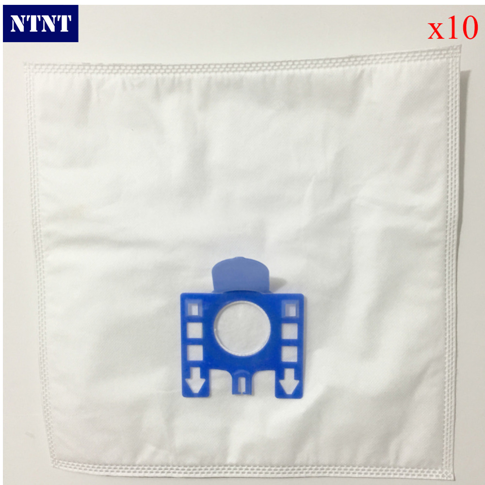 NTNT 10Pcs/Lot For Miele FJM dust bag For MIELE FJM GN Type Vacuum Cleaner Hoover DUST BAGS & FILTERS CAT DOG Size 275*255MM