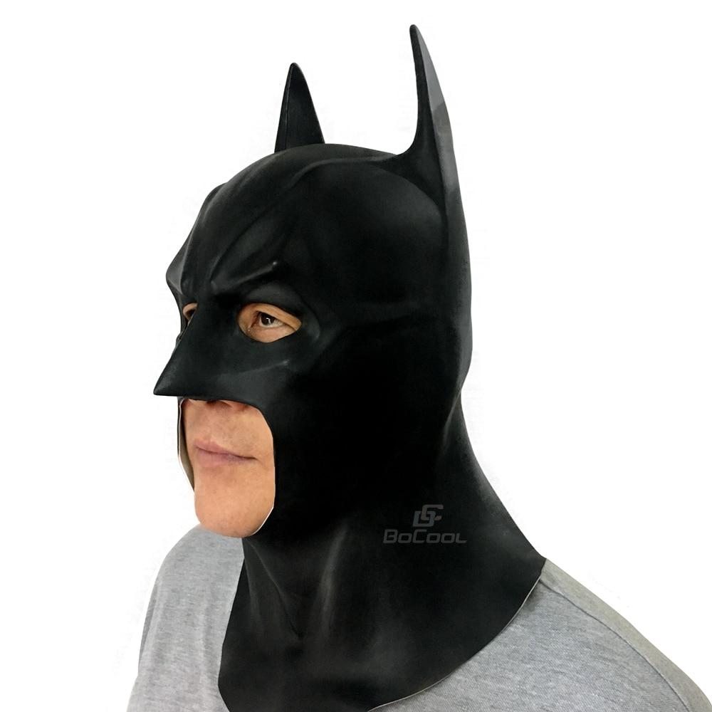 Batman Mask Vuxen Halloween Mask Realistisk Full Face Latex Party - Semester och fester - Foto 2
