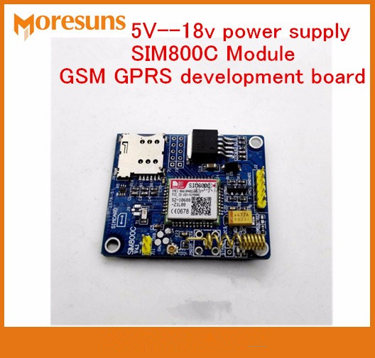 Fast Free Ship Global availability 5V-18v power supply SIM800C Module SMS GSM GPRS bluetooth-enabled version development boardFast Free Ship Global availability 5V-18v power supply SIM800C Module SMS GSM GPRS bluetooth-enabled version development board