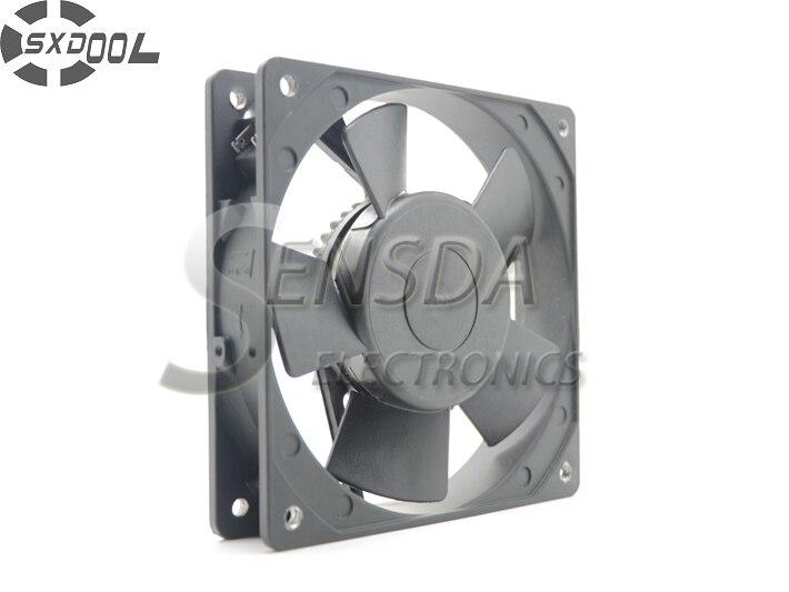 SXDOOL KA1225HA2 12cm 12025 220V metallkarkass kõrge temperatuuriga veekindel ventilaator IP55