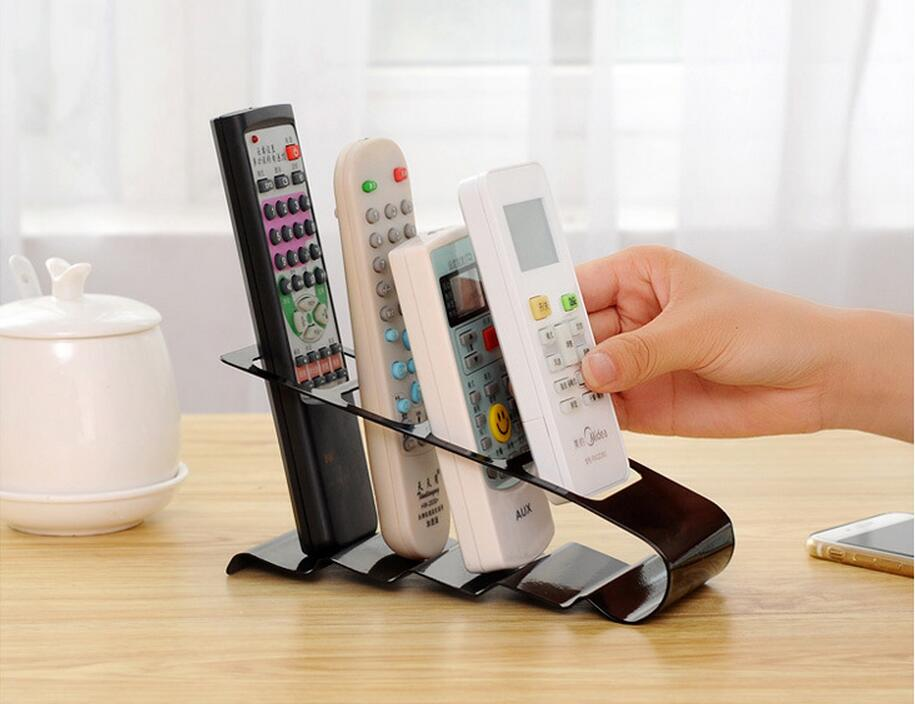High Quality TV/DVD/VCR Remote Control Stand Holder Mobile Phone Holder Stand Storage Organizer For Home Tools