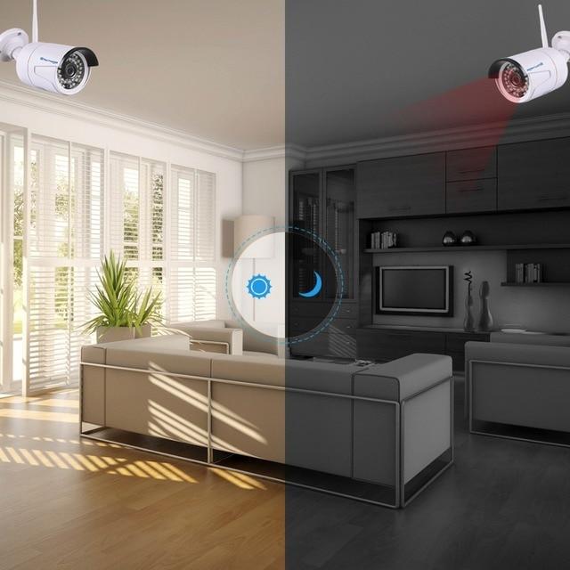 Techage 4CH 1080P Wireless NVR Wifi CCTV System IR Outdoor Waterproof Bullet 2.0MP IP Camera P2P Video Security Surveillance Kit