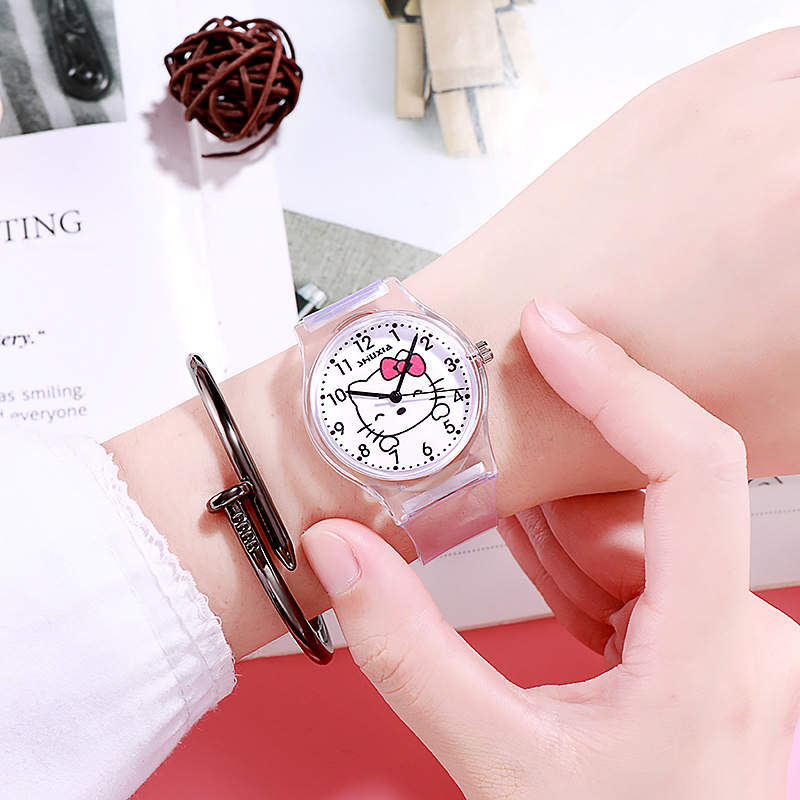Wind Tide Little Pure And Fresh And Contracted Cute College Electronic Quartz Watch Digital Girl Students