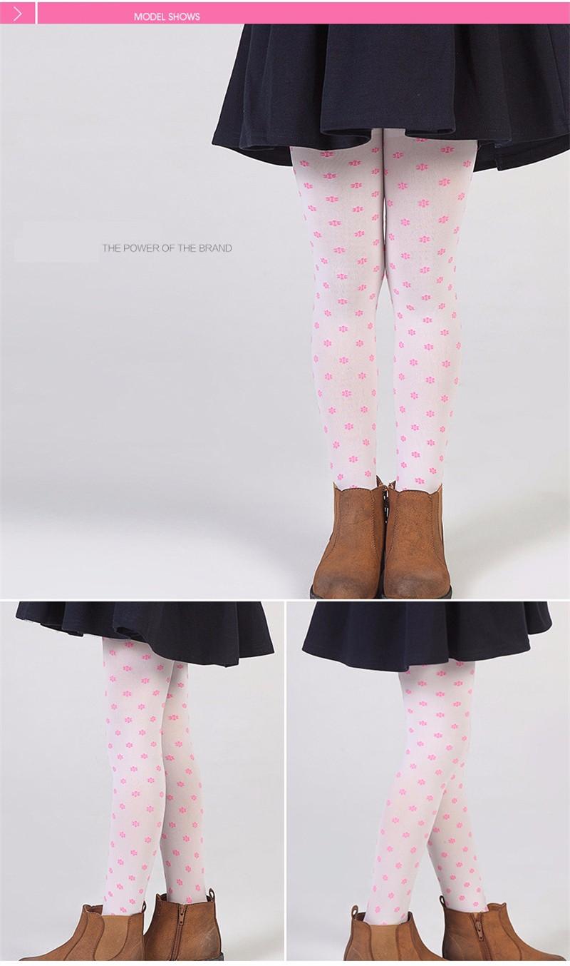Warm Children Girls Pantyhose  (3)