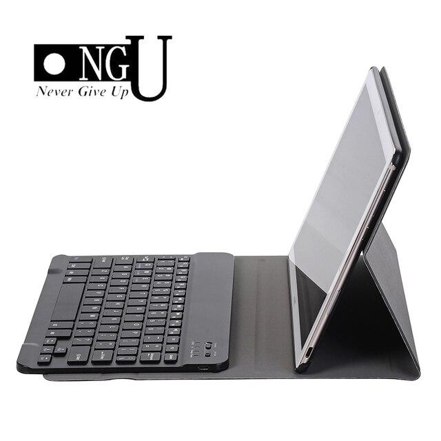 """De Lujo funda de teclado para Huawei MediaPad M5 10 10,8 """"Funda de cuero Soporte de teclado con Bluetooth Tablet caso de Huawei M5 Pro 10,8"""