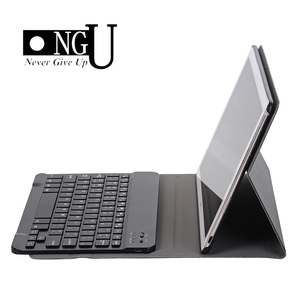 Image 1 - Luxury Keyboard Case for Huawei MediaPad M5 10 10.8 Leather Cover Stand Bluetooth keyboard Tablet Case for Huawei M5 Pro 10.8
