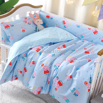1pcs 100% Cotton Baby Bedding Set Quilt cover for Newborn Babies Crib Bedding Bed sack Baby Duvet Covers(without filling) 1
