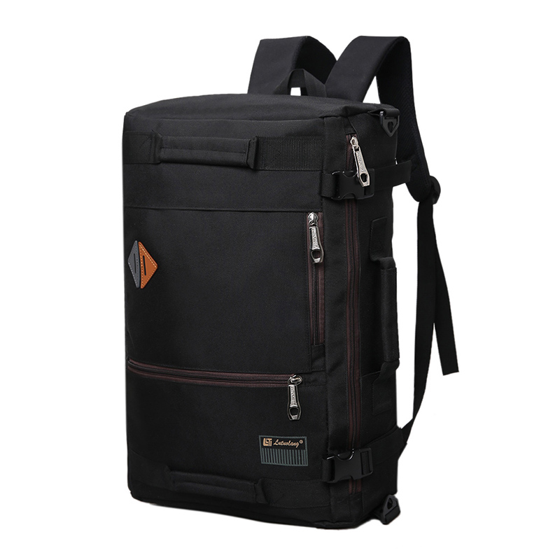 Oxford Large Capacity Mens Shoulder Travel Bag Bussiness Multifunction Big Backpack Road Bags T574