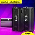 Original joyetech cubóide 150 w caixa mod vape tc150w controle de temperatura cigarro eletrônico caso sem líquido