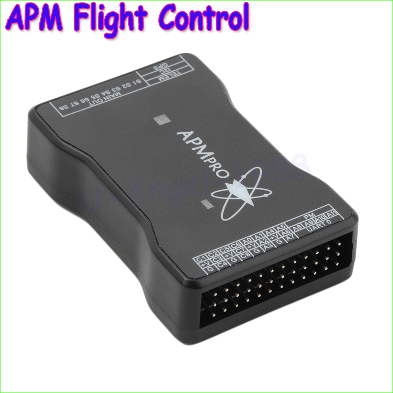 Wholesale 1pcs APM PRO New Mini APM Flight Control Opensource Hardware for Quad Hexa Octa Multicopter Aircraft Dropship t motor series mn3515 400kv navigator series motor for quad hexa octa multicopter