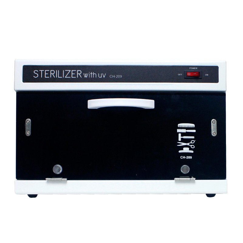 Nail Salon Sterilizer with Ultraviolet Radiation - Disinfection Cabinet For Hairdressing, Manicure Tool & Dental in Beauty Spa linlin high efficiency uv sterilizer kill bacteria and viruses nail art salon sterilizing tool manicure nail tool ultraviolet li