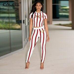 Image 3 - Stripe Casual kobiety kombinezon Romper drukowanie elastyczny dwuczęściowy garnitur kombinezon wysokiej talii Fitness Playsuit kombinezony Plus rozmiar