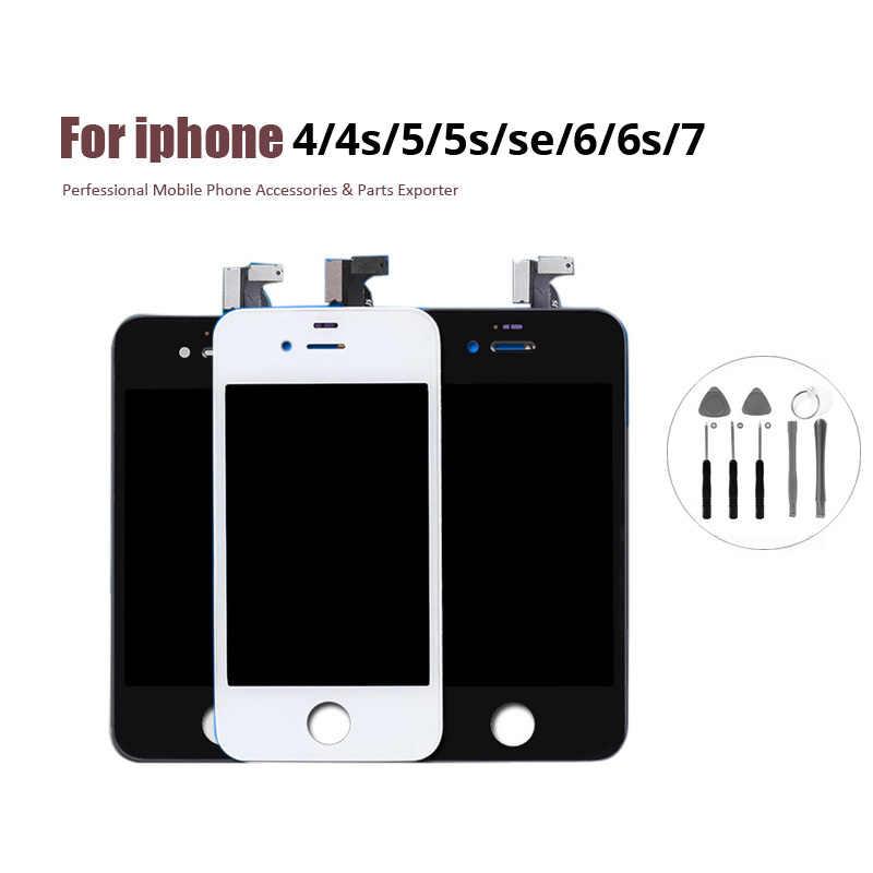 замена модуля экрана iphone 4s