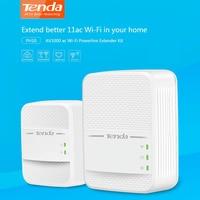 Tenda PH10 1000Mbps KIT Gigabit 2.4G & 5G Dual band Wireless Powerline Network Adapter AV1000 Ethernet PLC Adapters