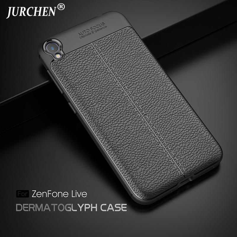 JURCHEN Silicone Case For Asus Zenfone Live ZB501KL Cases Soft TPU Back Cover Phone Case For Asus Zenfone Live ZB501KL Case