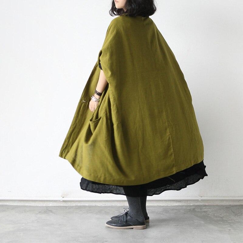 Cardigan Long Nouveau Olive red Linge Printemps 2017 Lâche Green Occasionnel Personnalisé Urlarge Femme tzqnTxpf