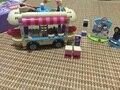 New Lepin 01007 Girl Friend Amusement Park Hot Dog Van Building Blocks set Kids Bricks Gift Toys Compatible with 41129