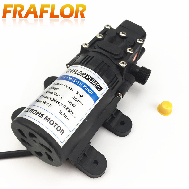 12v high pressure self priming electric car washer Car wash motor pump