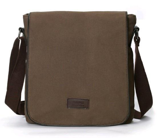 Aliexpress.com : Buy Fashion Three color Canvas Man bag canvas men ...