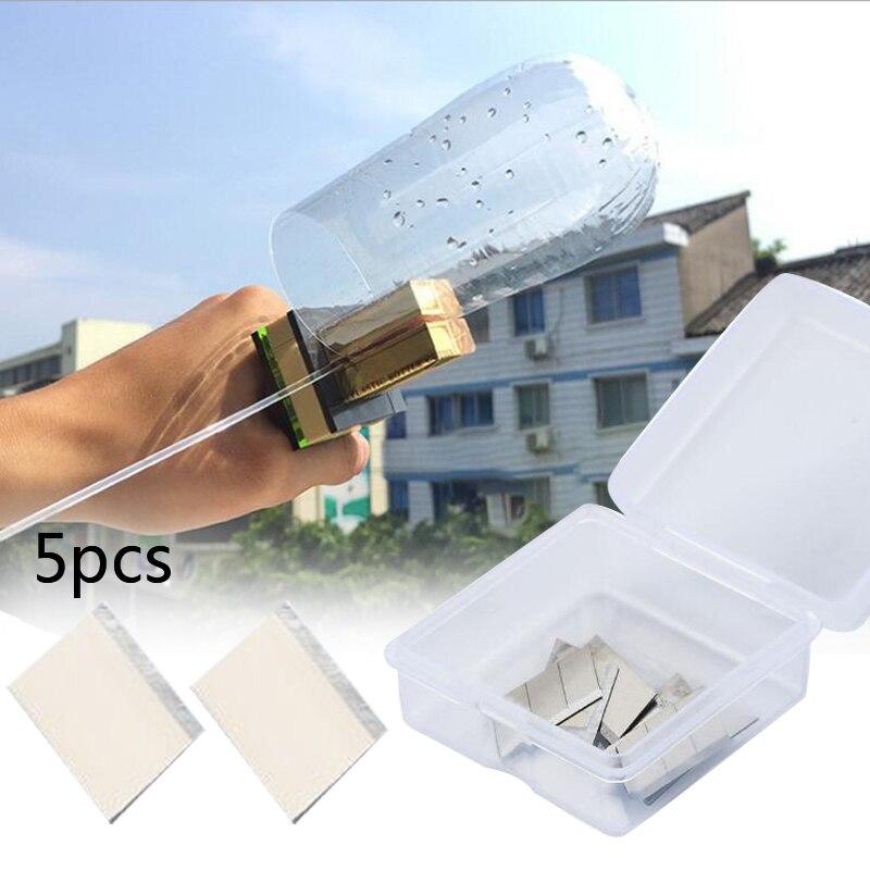 5Pcs Plastic Bottle Cutter Machine Craft Cutting Tool DIY Kit Blade Accessories