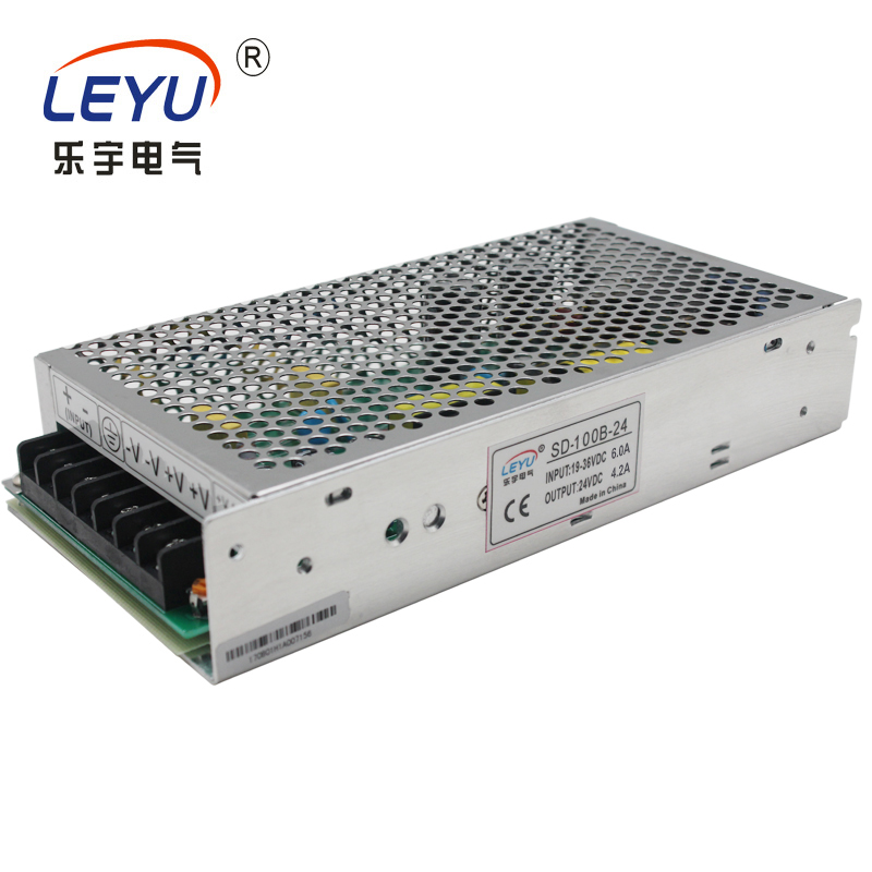 dc/dc converter power supply SD-100C-24  output 24v 4.2A Frequency Converter 100W switching power supply