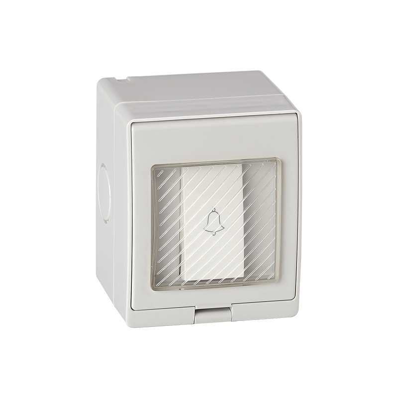 Saipwell Electrical Equipment & Supplies Waterproof switch On Off I O Start Stop Single control IP55 (SP-1GB)