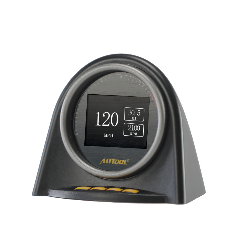AUTOOL X70 HUD OBD Head up Display Car OBD2 дисплей Спидометр расходомер топлива Манометр двигателя масла термометр считыватель кода