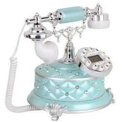 European Fashion Creative superb Retro landine Telephone fixed Telephone Office Phone Home bedroom reading room made of resin