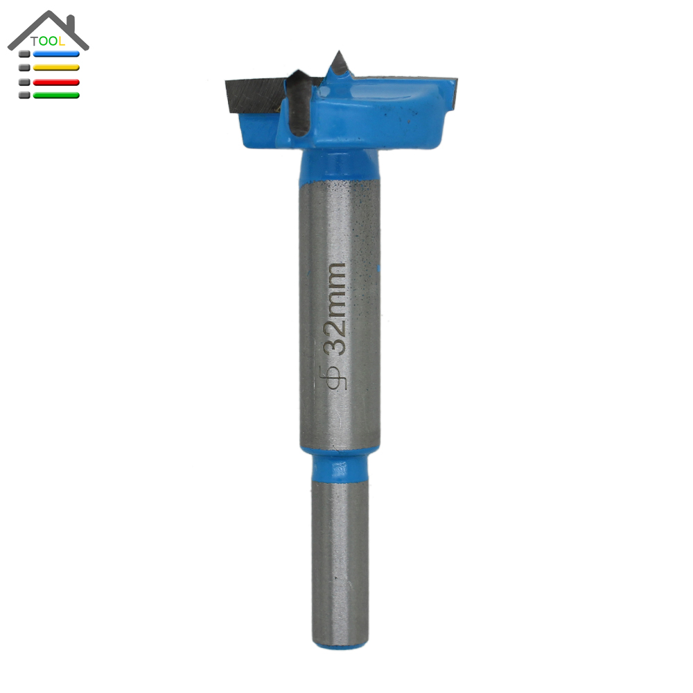 New 32mm Forstner Auger Core Drill Bit Woodworking Hole Saw Wooden Wood Cutter Metal stainless steel boring diameter 15mm 0 59 new forstner auger drill bit woodworking hole saw wood cutter silver tone new