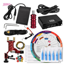 Rotary Tattoo Machine Kit Nueva Llega Suplies De Tatuajes Rotativa Para Tatuagem Caneta Tatoo Set Maquina Tatuar Pen Kits