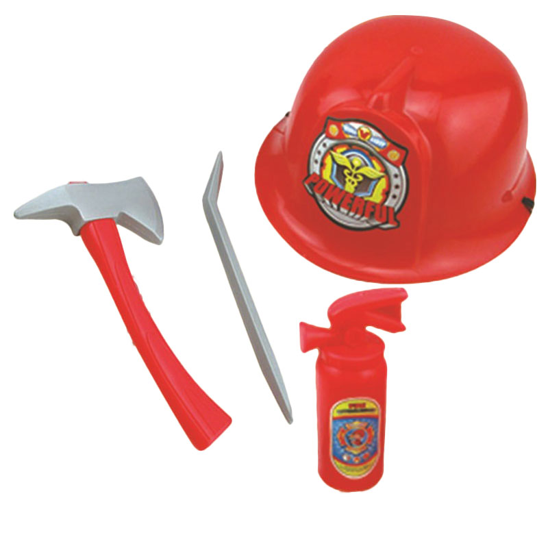 Action & Toy Figures Fireman Police Engineer Helmet Fire Cap Suit Role Play Toy Kit Costume Prop Party Kids Pretend Funny Toys 3 Styles Optional