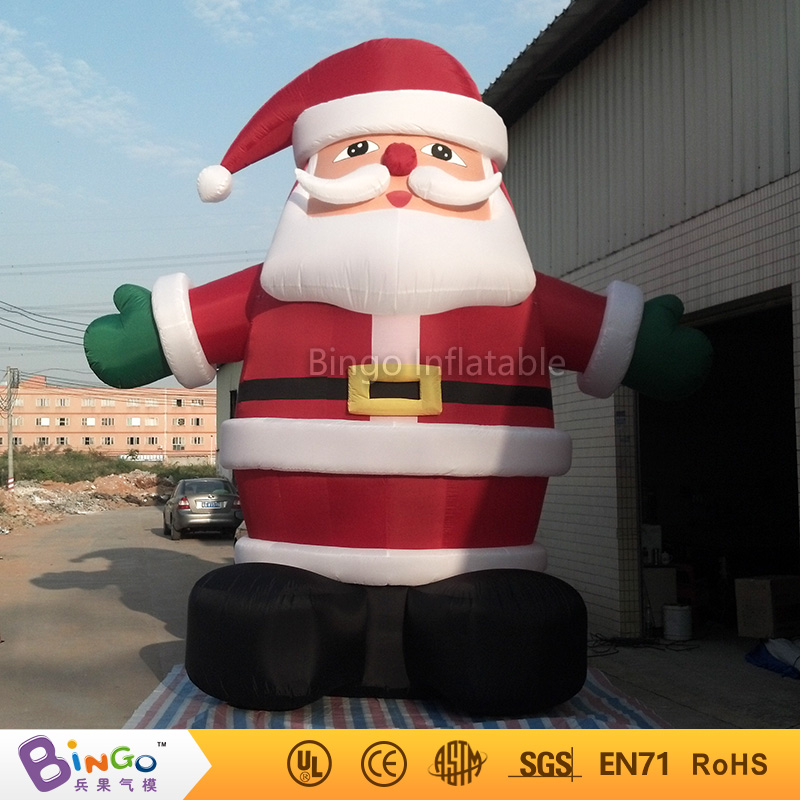 26Ft /8M high inflatable Christmas santa claus cartoon Christmas house can be customized for party decoration festival  toy customized chrismas house inflatable christmas decoration 3 3m