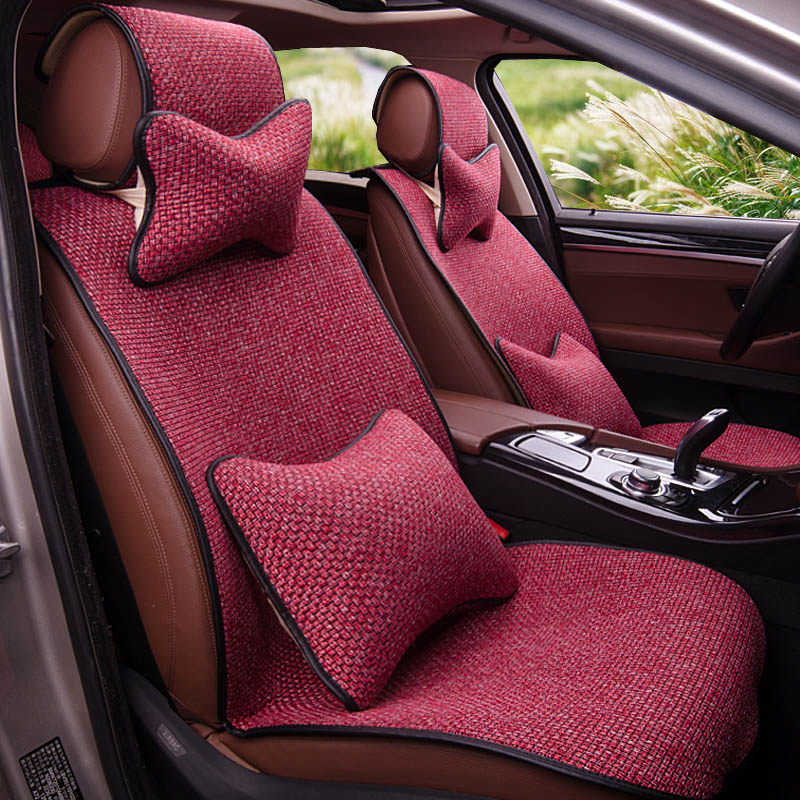 Yuzhe Linen car seat cover For Jeep Grand Cherokee 2016-2014 Wrangler patriot compass car accessories styling cushion car rear trunk security shield cargo cover for jeep compass 2007 2008 2009 2010 2011 high qualit auto accessories