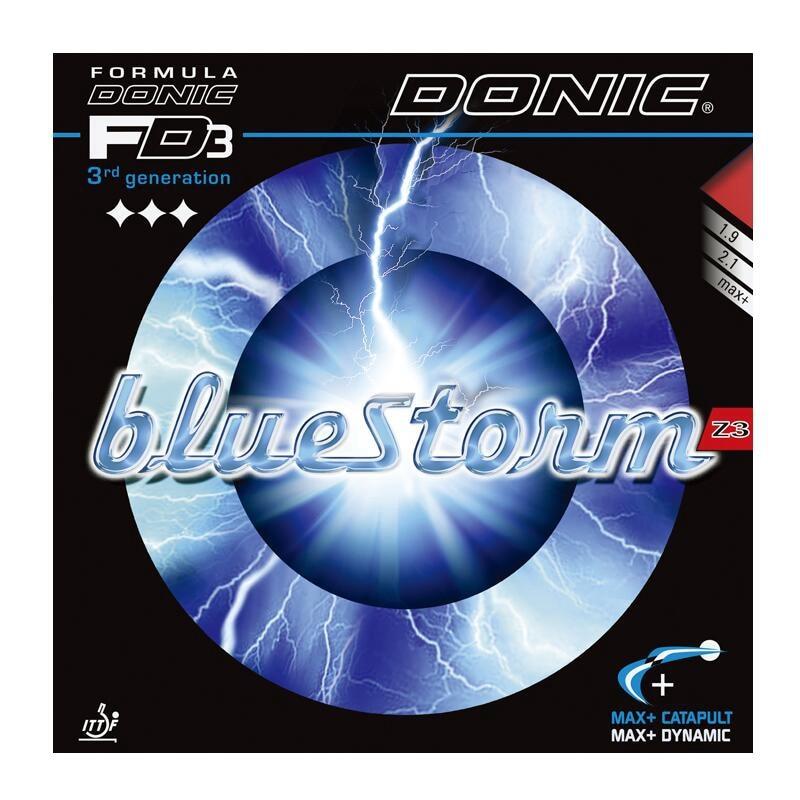 DONIC BLUESTORM BlueStorm Z1 Z2 Z3 Table Tennis Rubber Ping Pong Sponge Tenis De Mesa