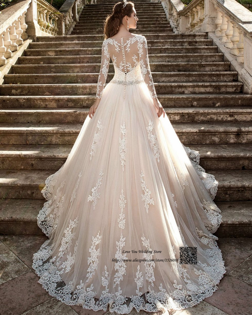 Arabic Wedding Dresses Turkey Vestido de Noiva Vintage Wedding Gowns ...