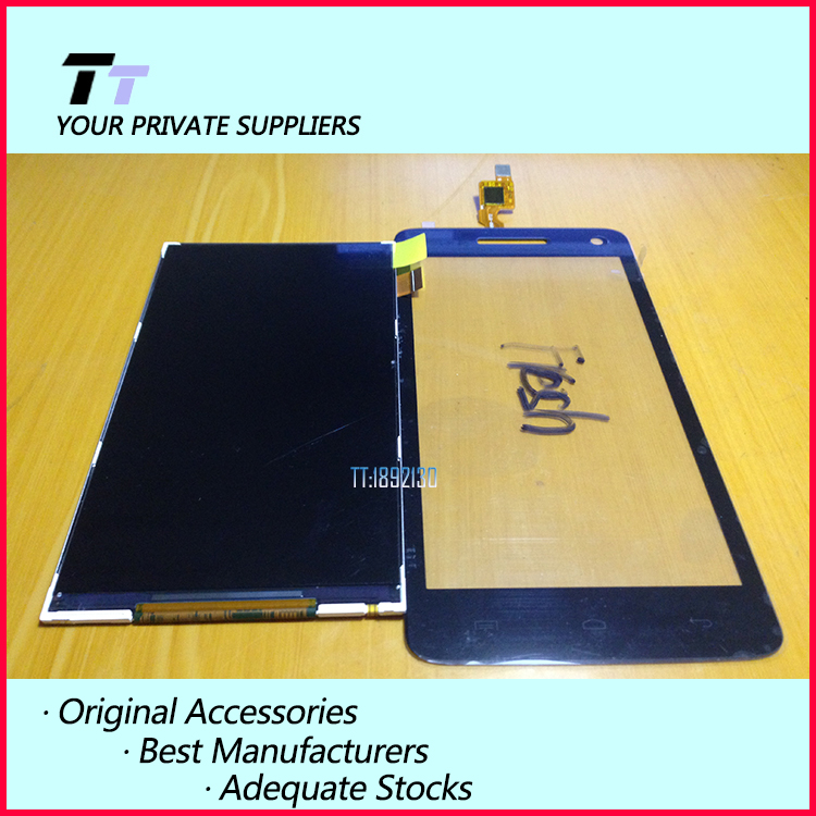 100% Tested original New For Explay Fresh LCD Display + Touch Screen Digitizer Separate Parts  Free shipping With Tracking No.