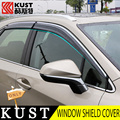 KUST 4PCS All Windows Rain Visor Shield For Lexus For RX200t 2015 Rain Sun Window Cover For RX200t 2016 Exterior Accessories