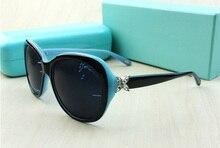 Brand Polarized Sunglasses Fashion Eye Glasses For Big Face  Female UV400 Sun glasses Oculos 2017 High Quality New Arrival