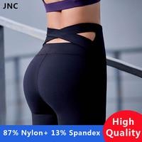 Haute Qualité Noir Bracelet Large Taille De Yoga Pantalon pour les Femmes remise en forme de Course Collants Violet Sport Push Up Croix Retour Yoga Leggings