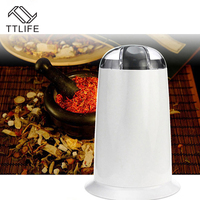 TTLIFE New Electric Coffee Beans Grinders Household Grains Cereals Small Crushers Ultrafine Stainless Steel Coffee Machines