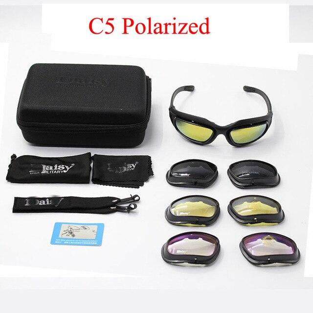 73e9a3c7ee C5 de Glasse ejército gafas de Tormenta del Desierto 4 lente deportes al  aire libre caza gafas Anti UVA UVB X7 polarizado juego de guerra -  a.sheiladumlao. ...